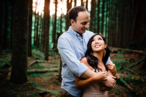 001 - forest engagement photos vancouver