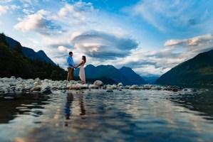 021 - mountain lake engagement photography