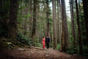 028 - forest wedding west vancouver