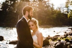 021 - wedding photo west coast lake