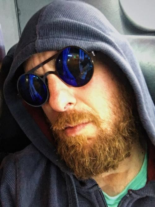 Beard on a Bus