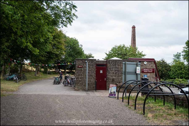 Bike hire and cafe at Middleton Top