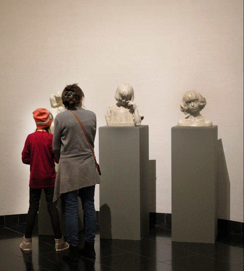 Willumsens Verden Skulptursal Anse tuder JF Willumsen