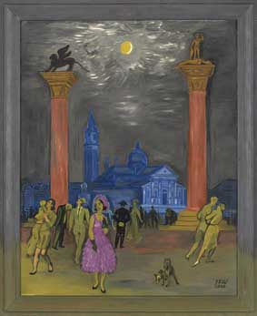 Venedig 1 J.F. Willumsen