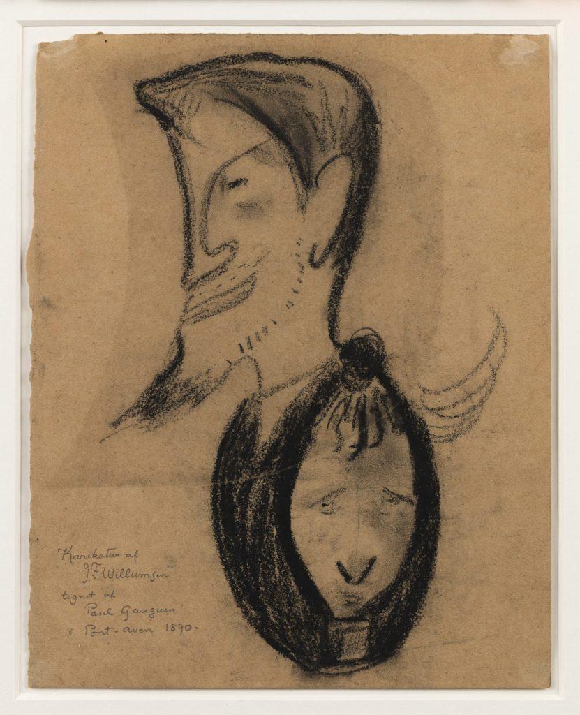 Gengivelse af Paul Gauguins værk
