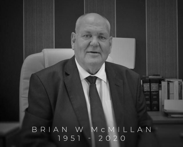Brian W McMillan