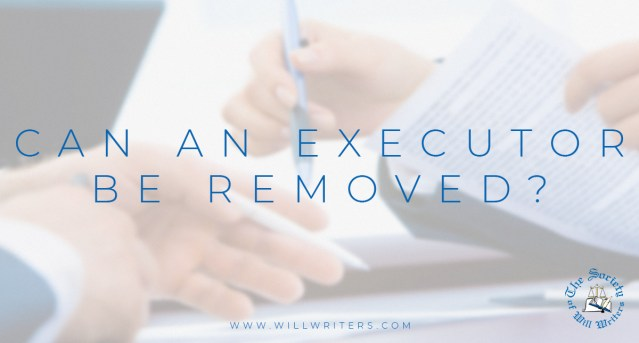 Can an executor be removed?
