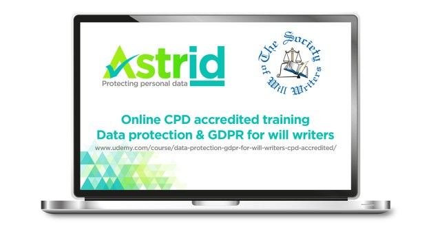 Online CPD accredited GDPR training now available