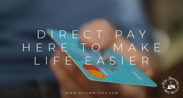 Direct Pay – Here to Make Life Easier