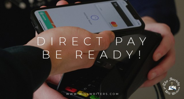Direct Pay – Be Ready!