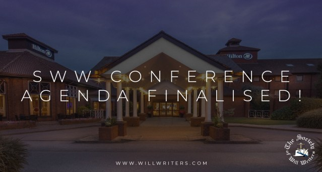 SWW Conference Agenda Finalised!