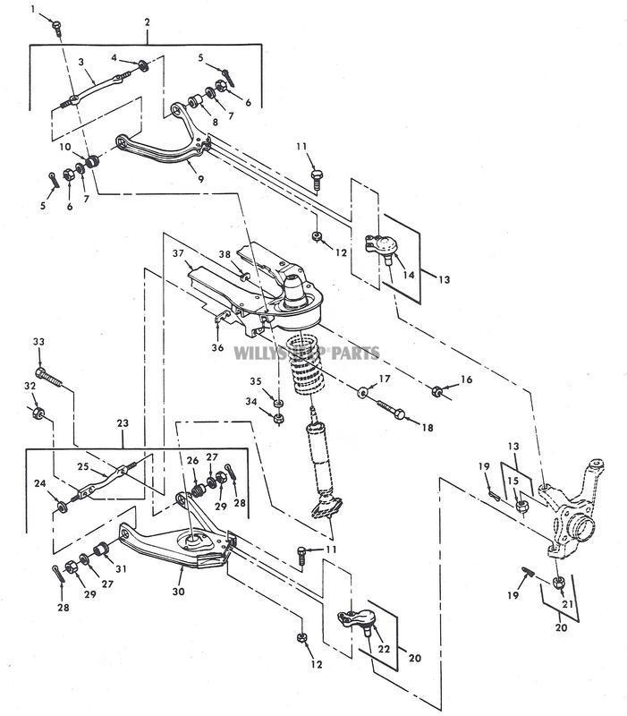 front suspension upper