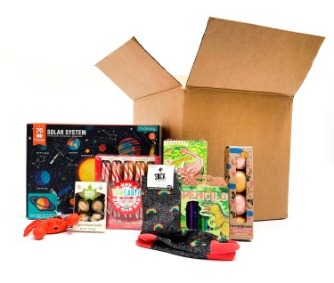Holiday gift box for kids