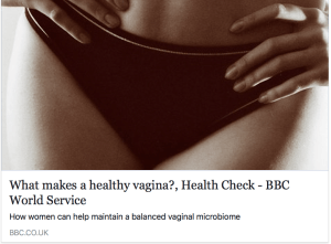 what makes a healthy vagina?