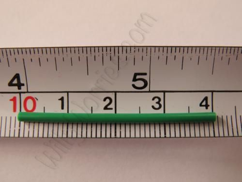 This picture shows the size of the progestogen only hormonal contraceptive implant 'Nexplanon®' but also 'Implanon®'