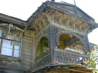Zabytkowy dom drewniany na Zarzeczu w Wilnie, fot. vilnius21.lt