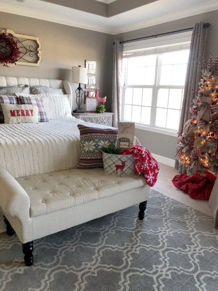 master bedroom decorating ideas christmas 4 ideas on how to add Christmas decor to your master