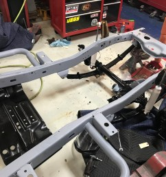 jeep frame has been sand blasted painted and clear coat [ 4032 x 3024 Pixel ]