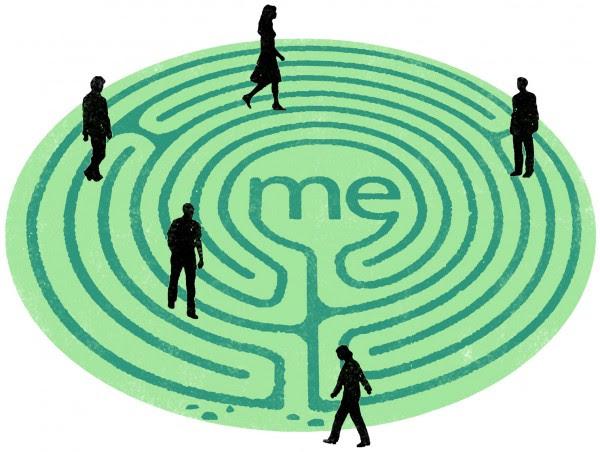 A atenção plena (Mindfulness) seria boa para você.Se não fosse tão egoísta.