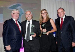 Electric Ireland and Wilson Hartnell at the PR Awards for Excellence