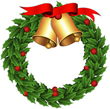 free christmas wreaths clipart