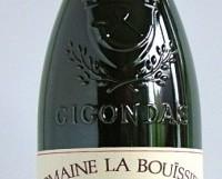 Gigondas 2011 Domaine de la Bouïssière