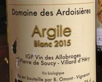 Domaine des Ardoisières Argile 2015