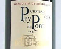 <strong>Ch. Pey du Pont 2012, Médoc Cru Bourgeois</strong>