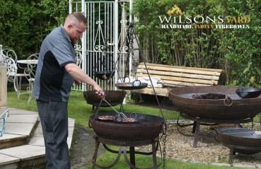 kadai fire bowls from wilsons yard Ireland