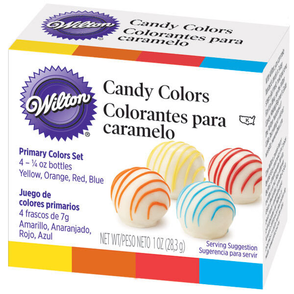 Wilton candy colors primary set also rh