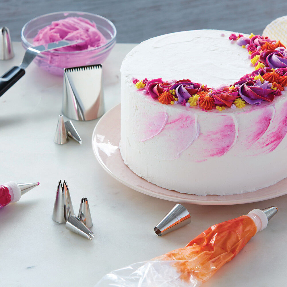 How To Decorate Cakes And Desserts Kit 39 Pieces Wilton