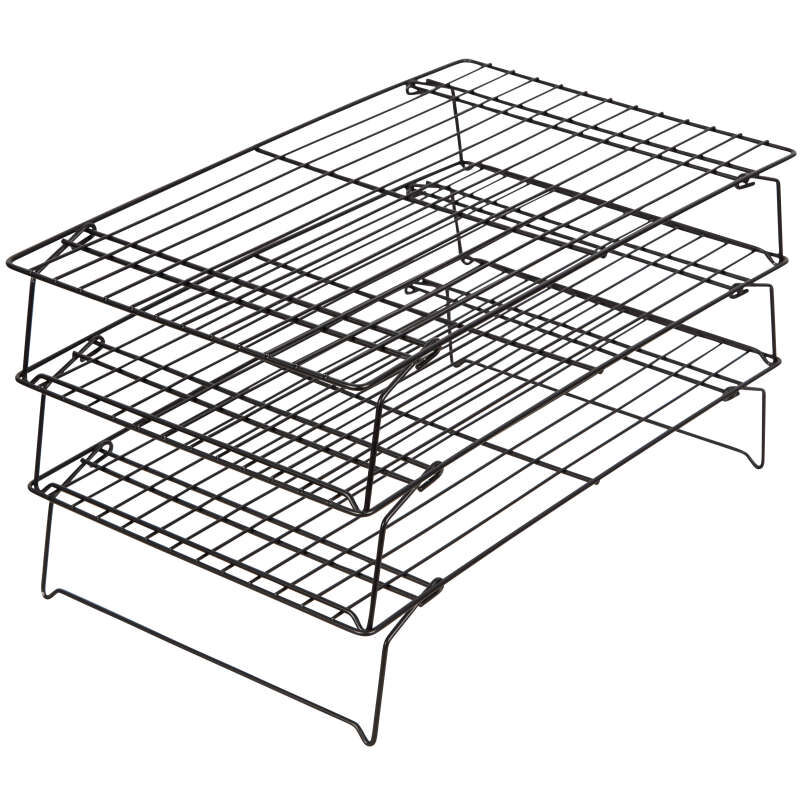 recipe right non stick cooling rack set 3 piece