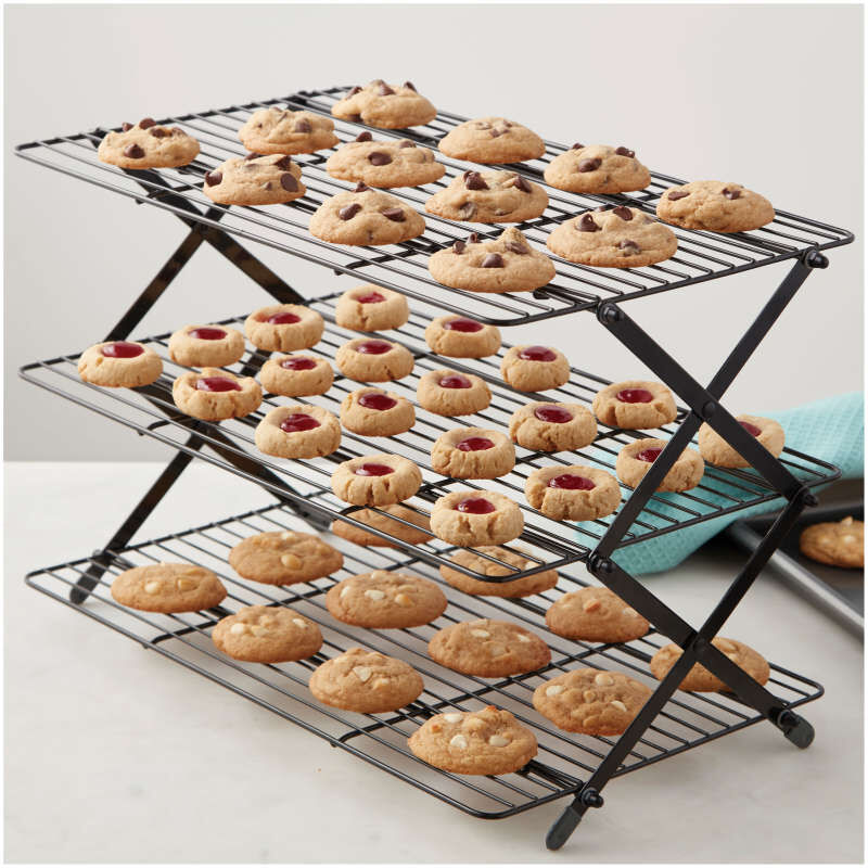 3 tier collapsible cooling rack