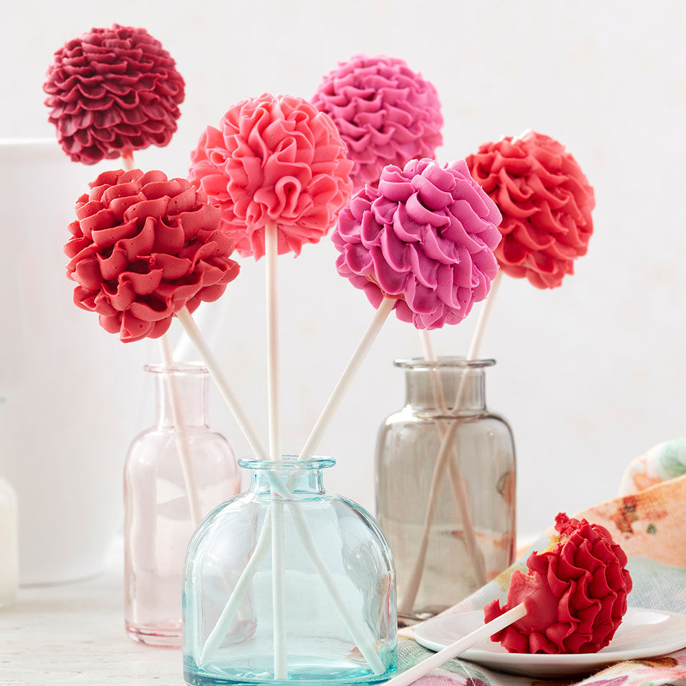 Blooming Floral Cake Pops Wilton