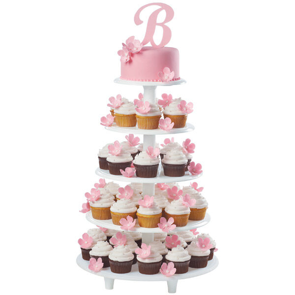 Initial Announcement Cake And Cupcakes Wilton