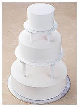 Push-In Tiered Cake Construction   Wilton