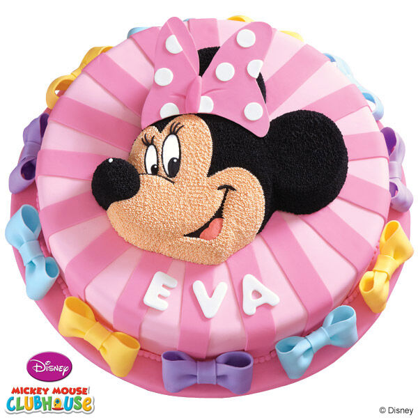Minnie Mouse Birthday Cake Wilton