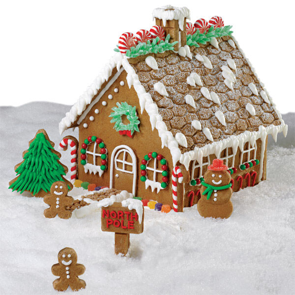 Grand Gingerbread House Wilton