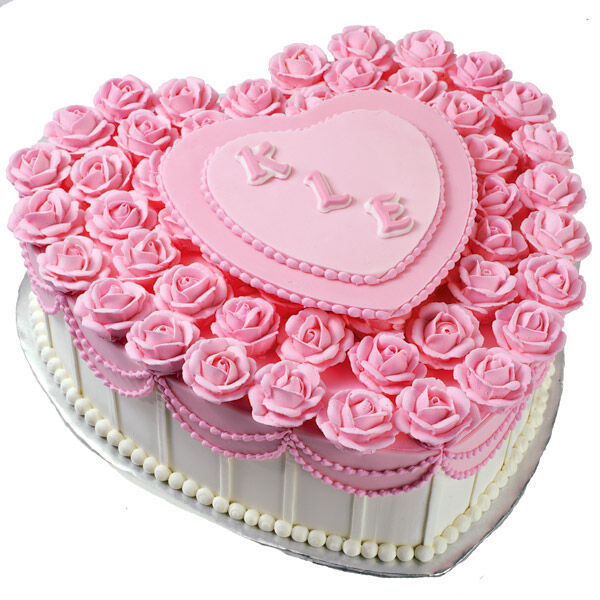 Loves A Bed Of Roses Cake Wilton