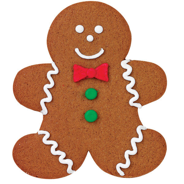 Real Gingerbread Boy Cookie Wilton