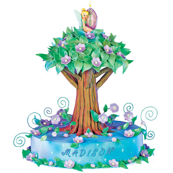 Dreams Of Neverland Tinkerbell Birthday Cake Wilton