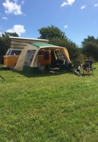 Campervan at Wilton Farm South Pool