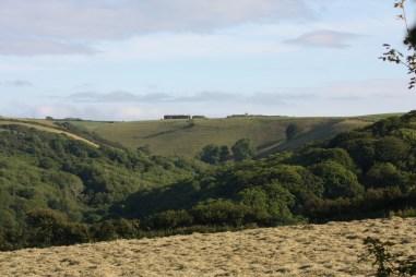 View from Wilton Farmhouse