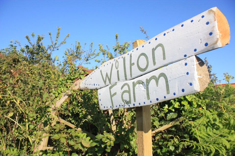 Wilton Farm Sign