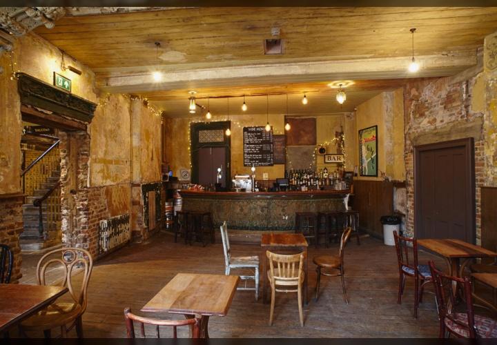 Mahogany Bar Wiltons
