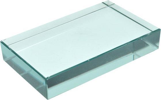 rectangular glass slabs 100mm