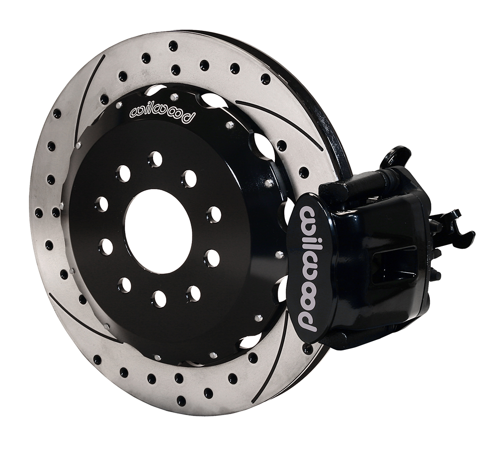 medium resolution of wilwood combination parking brake caliper rear brake kit black powder coat caliper srp drilled