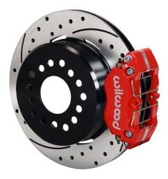 wilwood dynapro dust boot rear parking brake kit red powder coat caliper srp [ 1000 x 1065 Pixel ]