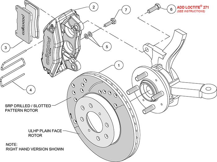 Wilwood Disc Brake Kit Honda Civic Integra Fit 4 Piston