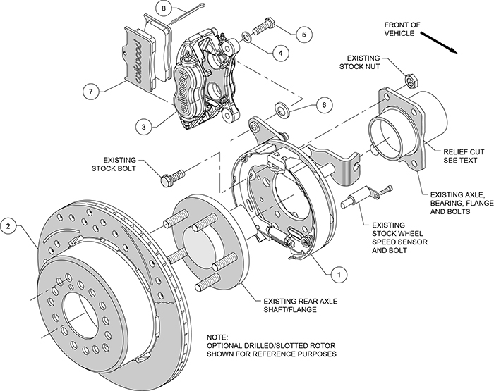 Schematic Diagram Of A Rear Axle Embly Showing Internal